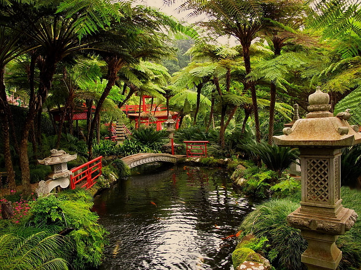 Japanese Garden-SDGchannel-Happiness-God